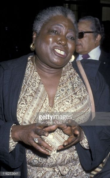 Esther Rolle Funeral Traffic Club