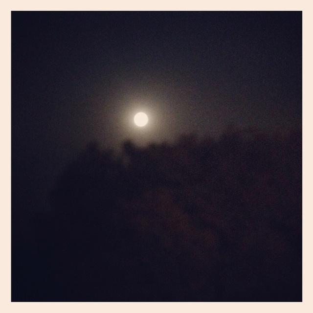Moon light at india gate Delhi