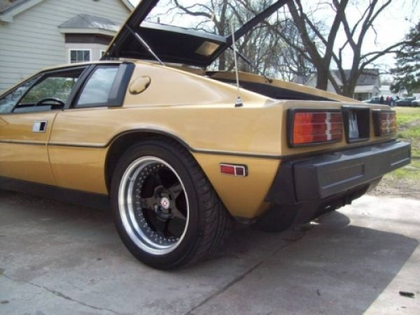 """Ultimate SHO Engine Swap? 1980 Lotus Esprit with Ford SHO = """"SHOtus"""""""