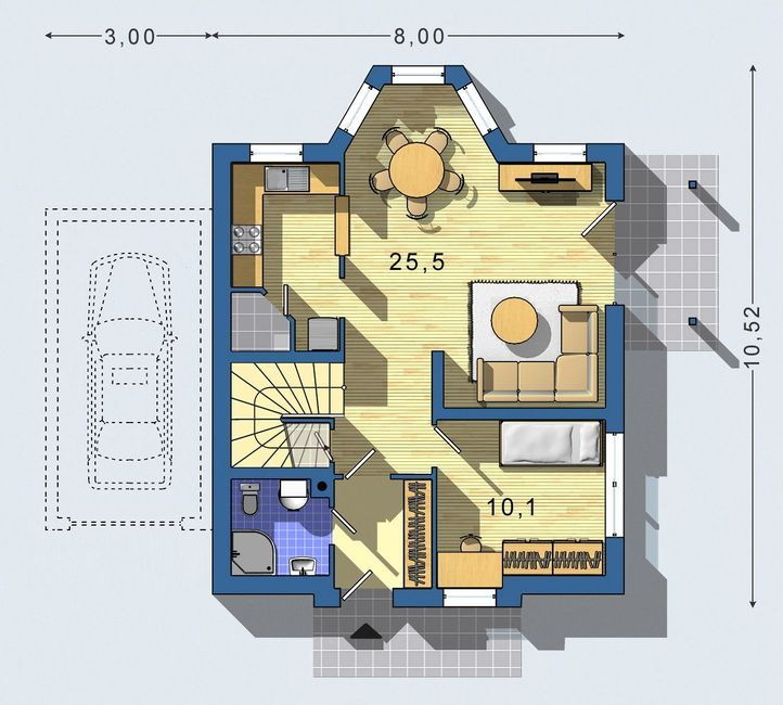 Superb To Realization House Project Junior 049 Page) You Get A Free Itemized  Budget.