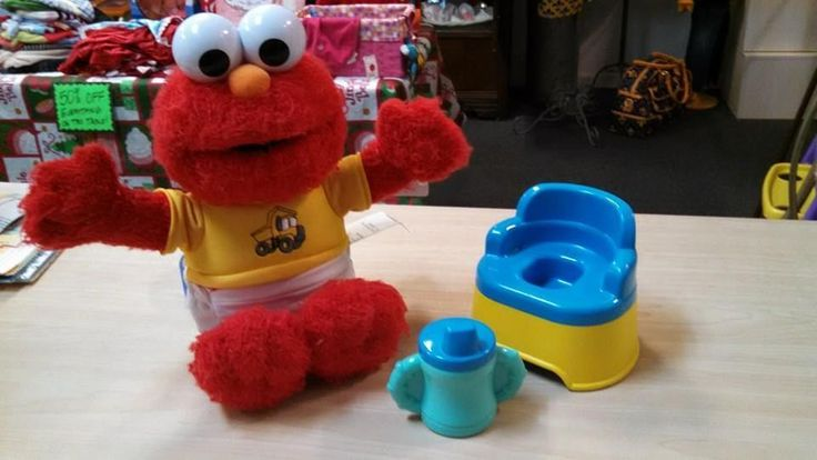 Vintage Potty Time TALKING Elmo! #FisherPrice