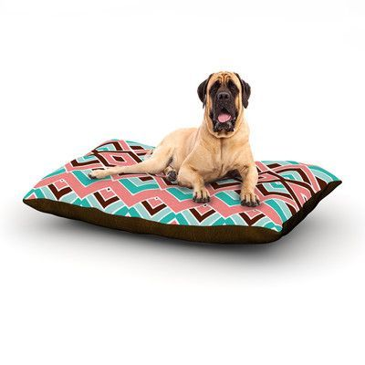 """KESS InHouse 'Eclectic' Dog Bed Size: 40"""" L x 30"""" W"""