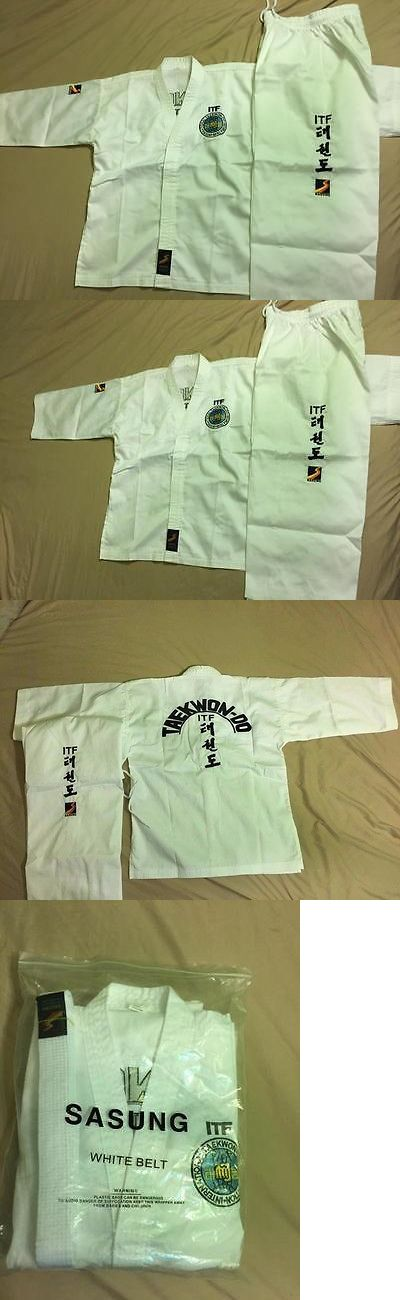Other Combat Sport Clothing 73988: Sasung Itf Taekwondo Uniform Dobok -> BUY IT NOW ONLY: $70 on eBay!