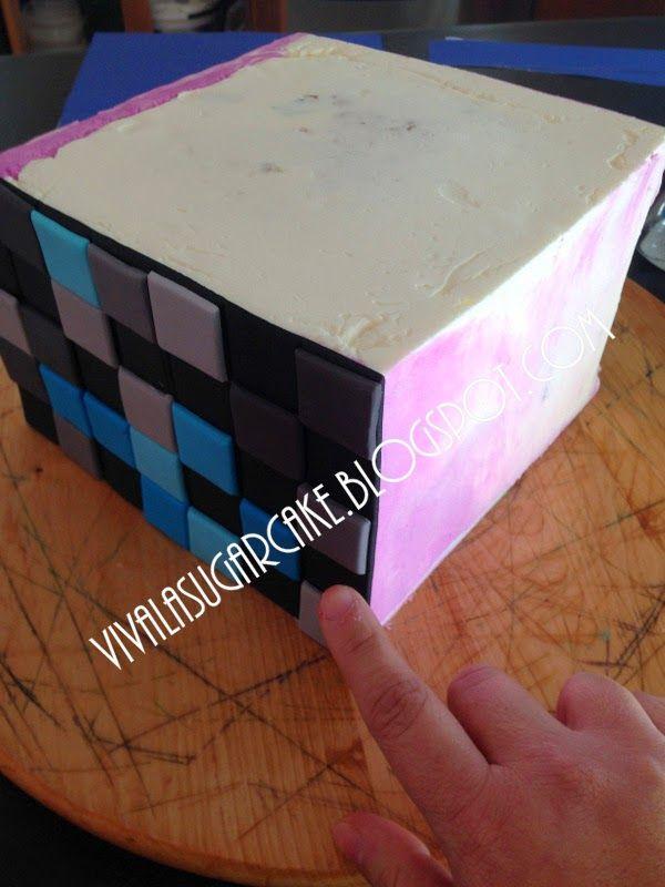 60 best Cake Ideas Fondant images on Pinterest Minecraft party