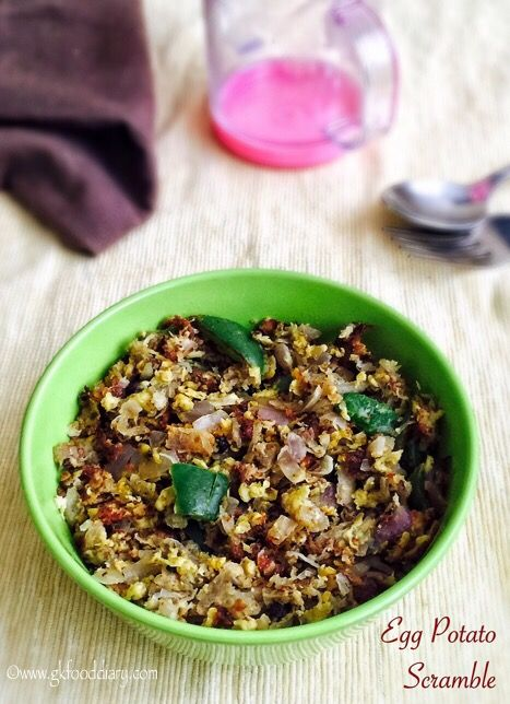 26 best anas bf images on pinterest baby food recipes homemade again am back with an easy peasy egg recipe egg potato scrambleegg bhurji forumfinder Image collections