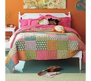 fun colors & an easy quilt to make by hanan.crystal