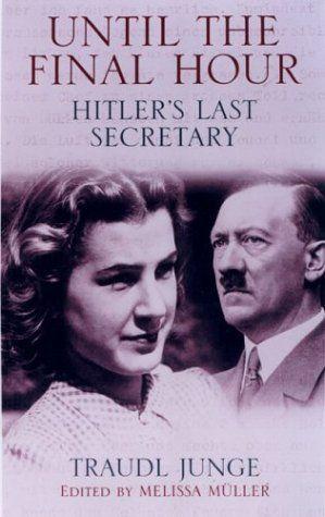 Until the Final Hour: Hitler's Last Secretary by Traudl Junge, http://www.amazon.com/dp/1559707283/ref=cm_sw_r_pi_dp_24Oztb035BNNX