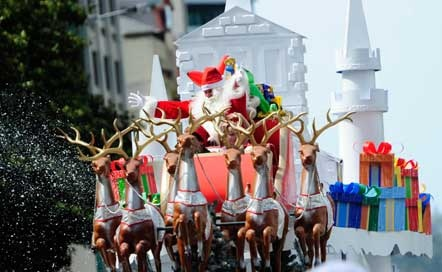 Farmers Santa Parade event in Auckland