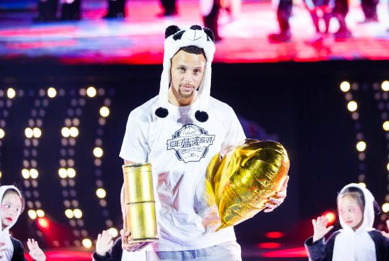 Stephen Curry at Under Amour 2017 Asia Tour