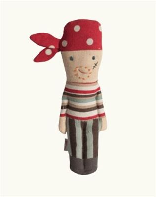 Soft touch pirate rattle from Maileg. Find it now at CiaoBellaShop.com!