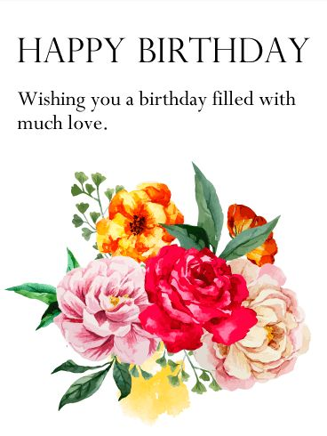 Find This Pin And More On Hy Birthday Flowers
