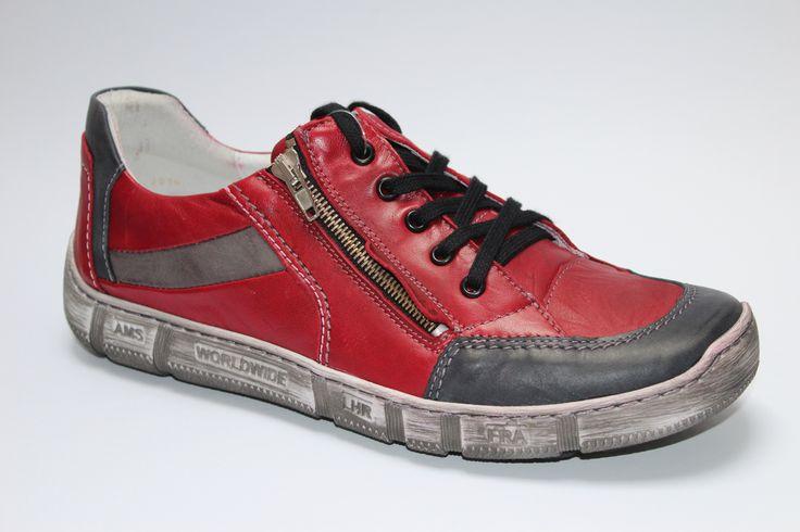 KACPER OBUV 1-4744 RED/GREY