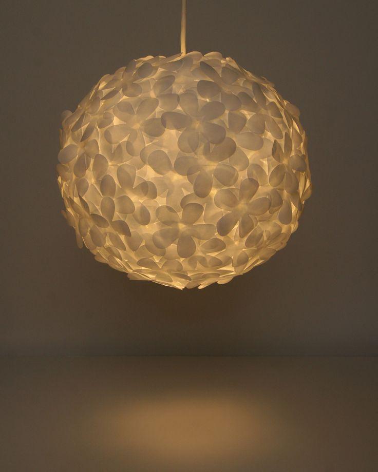 White Paper Flower Pendant Light Light Lamp Chandelier Pinterest