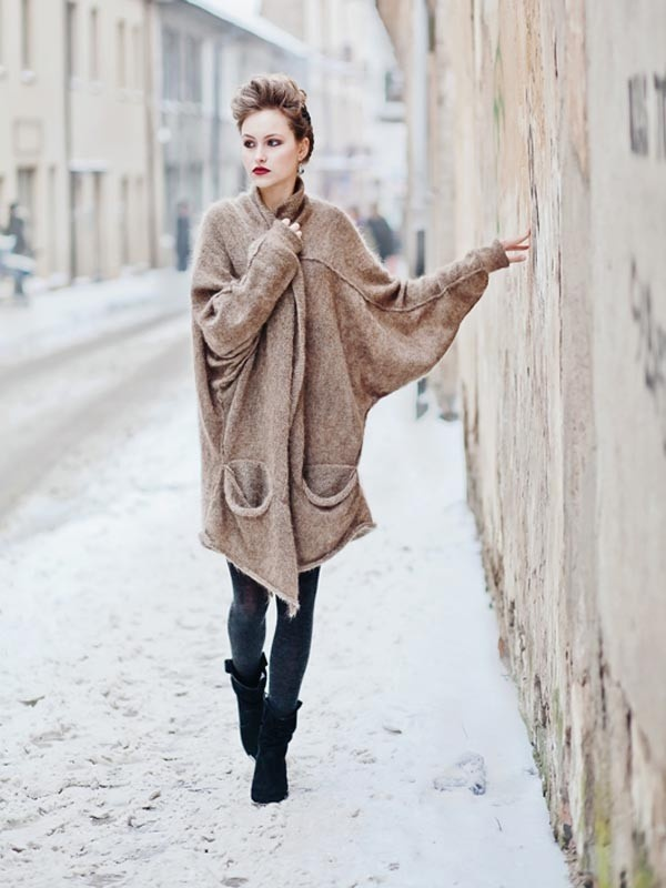Cozy - Sunday, Gilet Chic Du Dimanche. 50% Mohair!