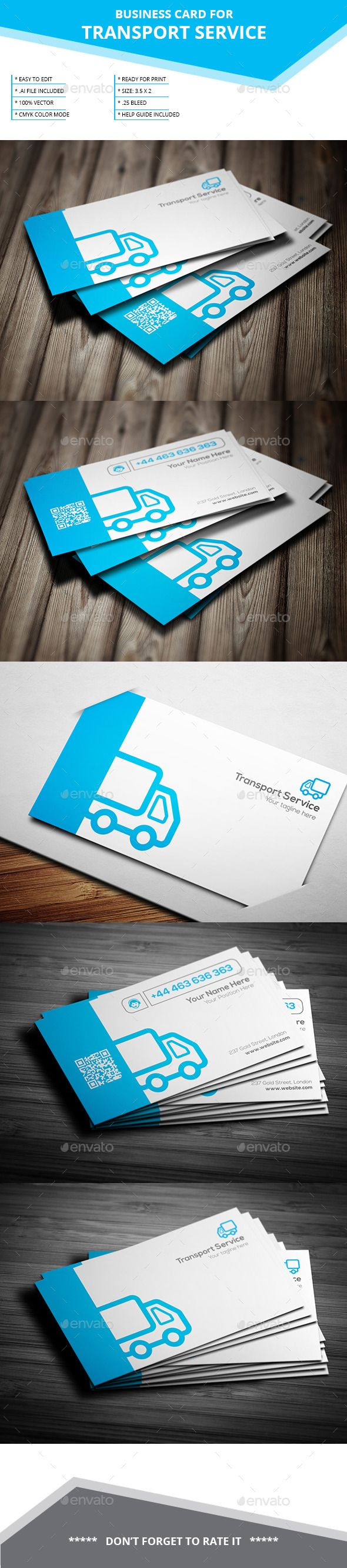 20 best creative business card designs images on pinterest transport service business card reheart Choice Image