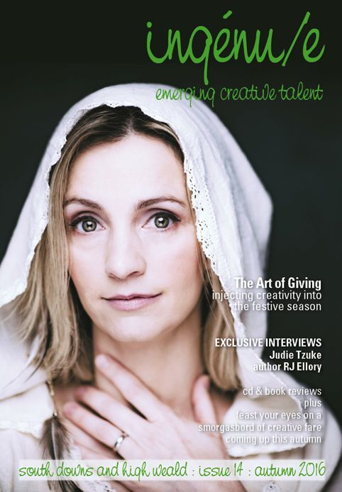 Front cover of ingenue magazine issue 14. Pictured: Cara Dillon www.caradillon.co.uk