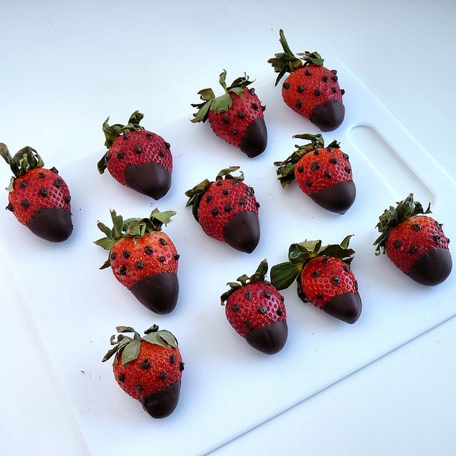 Strawberry Love Bugs: Dotty! by River (Wing-It Vegan), via Flickr
