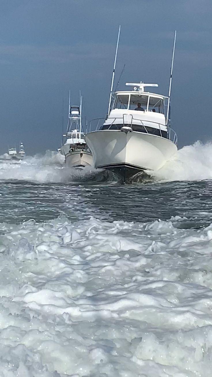 White Marlin Open Inlet Traffic