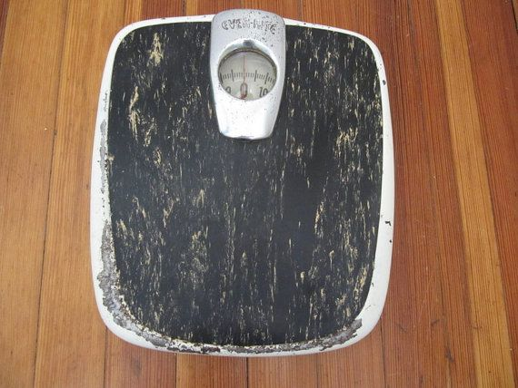 Hey, I found this really awesome Etsy listing at https://www.etsy.com/listing/115701800/industrial-bathroom-scale-vintage