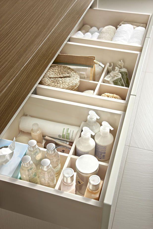 Dicas simples pra deixar o banheiro organizado