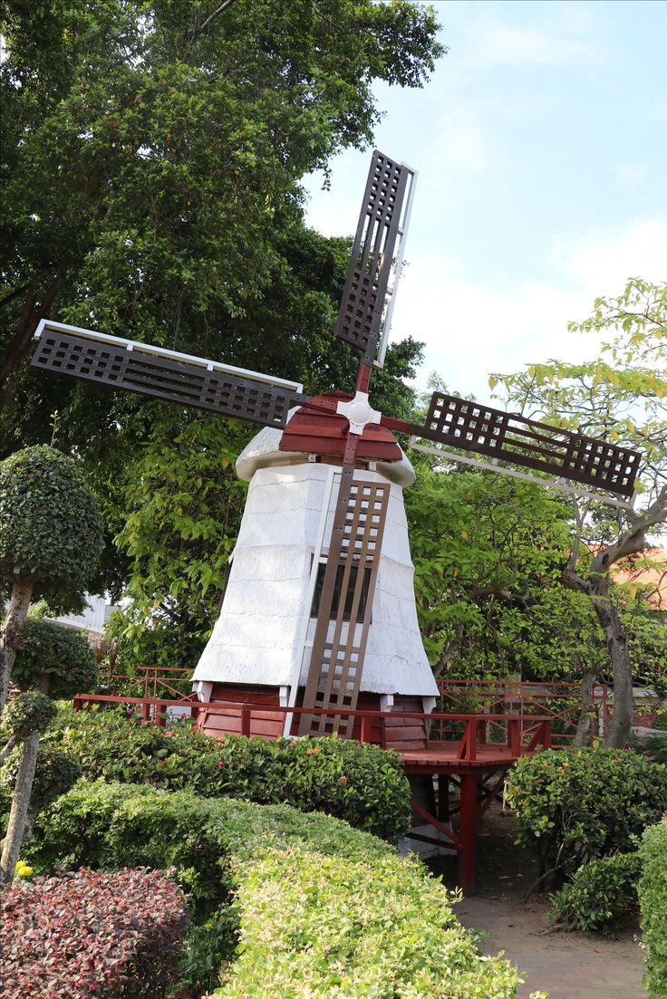 A tribute to their Dutch heritage in Malacca