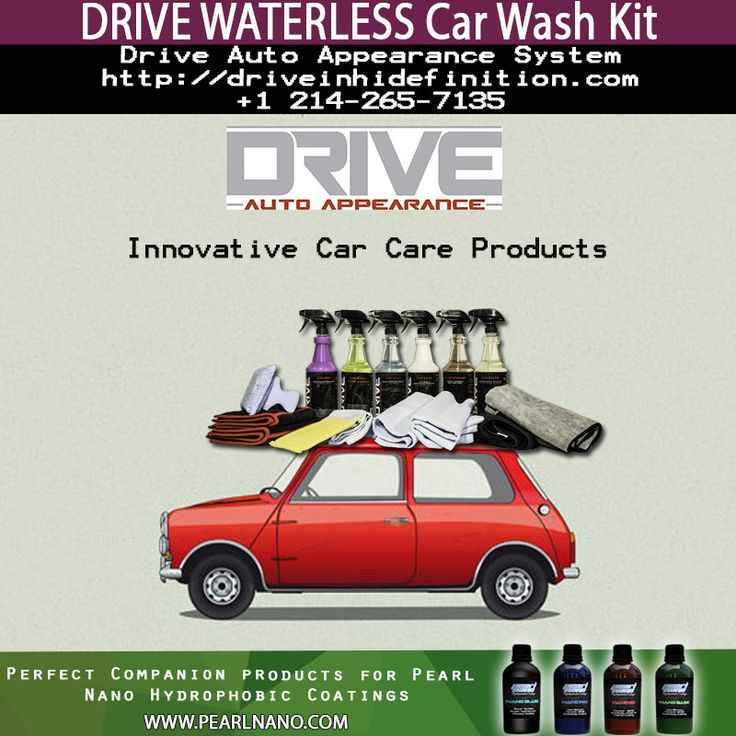 DRIVE Auto Appearance product line. These are perfect