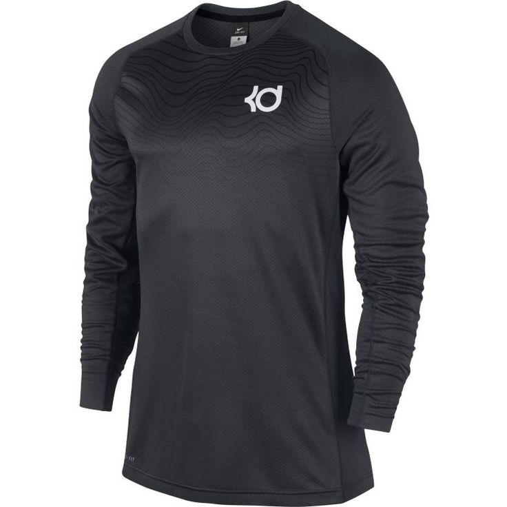 Nike Men's KD Quickness Fearless Kevin Durant Long Sleeve Shirt Size Large NWT #Nike #ShirtsTops