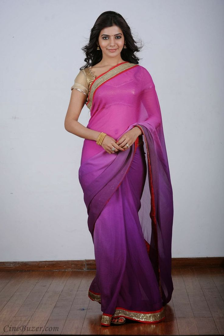 cool Hot Samantha Prabhu Sizzling Photoshoot in Saree