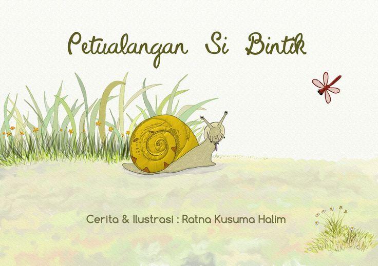 "e-book cover ""Petualangan Si Bintik"""