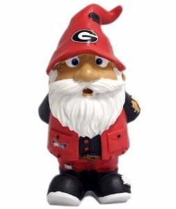 "Georgia Bulldogs Garden Gnome - 8"" Stumpy"