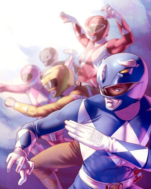Mighty Morphing Power Rangers - Jamal Campbell