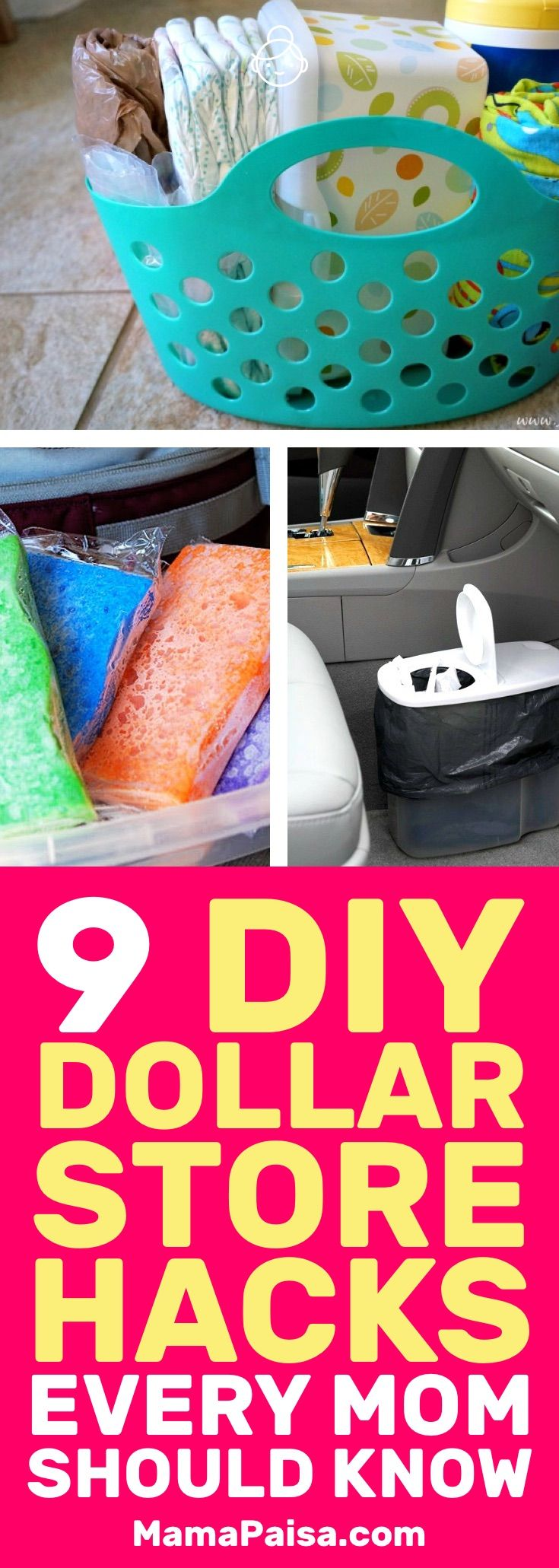 9 DIY Dollar Store Hacks Every Parent Should Know