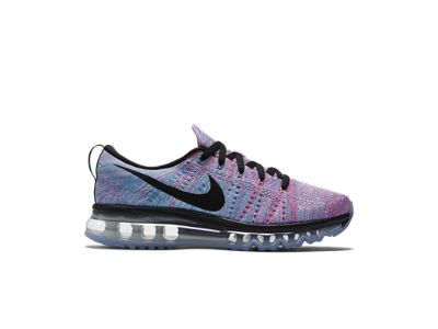 Nike Flyknit Max Womens Running Shoes White Black Blue Pink Blast 620659  104 in Clothing, Shoes & Accessories, Women's Shoes, Athletic