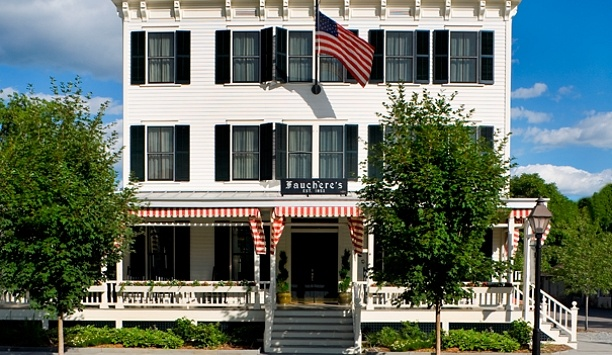 Hotel Fauchere: About 90 minutes from Manhattan, Hotel Fauchère is in charming Milford, Pennsylvania.