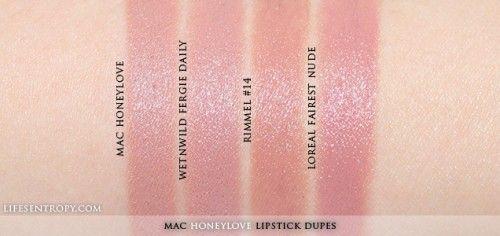 MAC Honeylove Lipstick Dupe