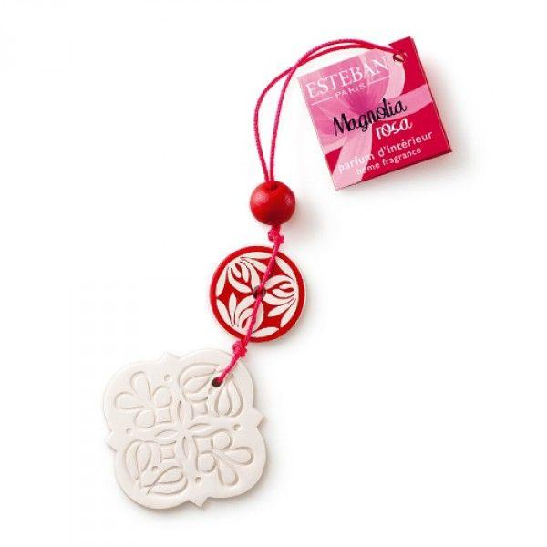 Parfümierter Glücksbringer Gri-Gri Magnolia rosa - Glücksbringer - Raumduft
