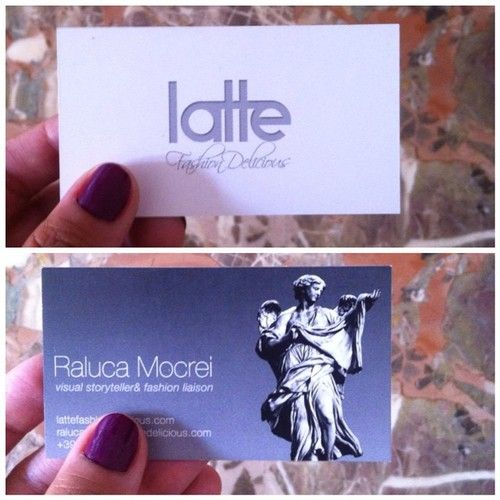 And here we are  (presso www.lattefashiondelicious.com)