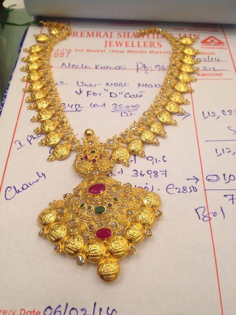 45 gms Kas necklace uncuts | PREMRAJ SHANTILAL JAIN JEWELLERS Bata RP road Secunderabad A.P dharmesh25@yahoo.com 9700009000