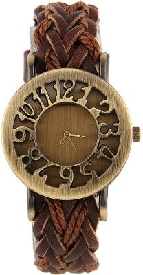 Hollow Wooven Analog #Watch For #Women & #Girls on Flipkart #India at lowest price, http://bit.ly/1RVt6Zt