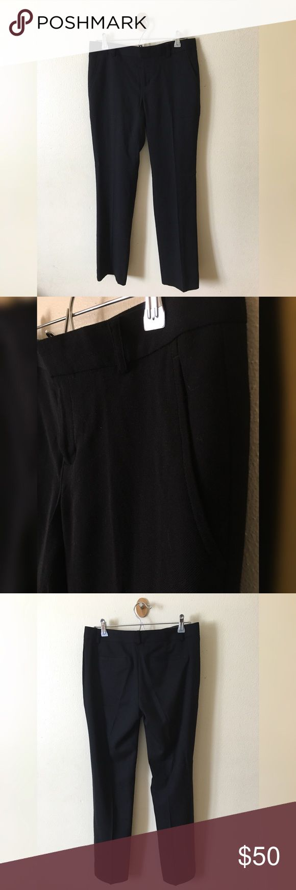 """*NWT* BANANA REPUBLIC trousers BANANA REPUBLIC black trousers; 30"""" inseam; two front pockets; 2 back pockets Banana Republic Pants Trousers"""