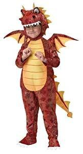 Fire Breathing Dragon Toddler Costume
