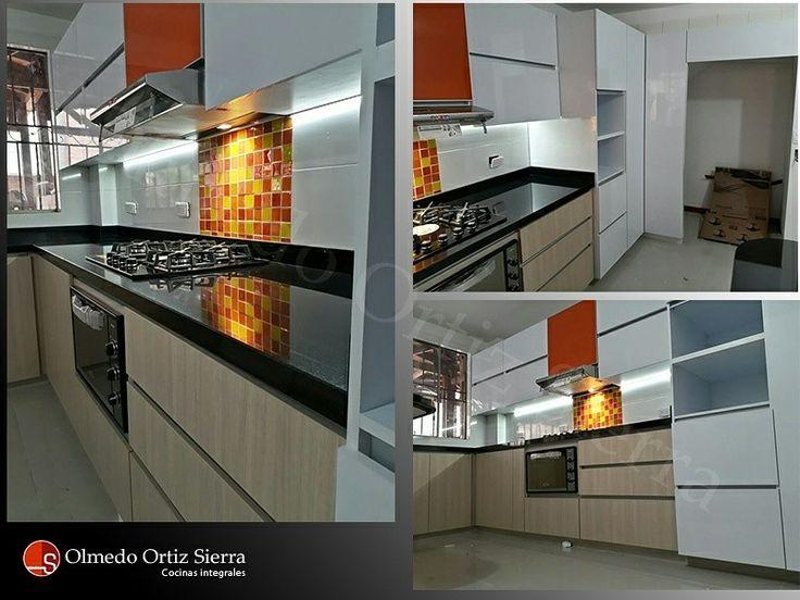 Múltiples vistas de nuestro último proyecto. Remodela y renueva tu cocina. #cocinasintegrales #cocinaintegral #diseñococina