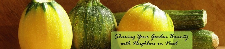 Share Your Garden Bounty with Neighbors in Need