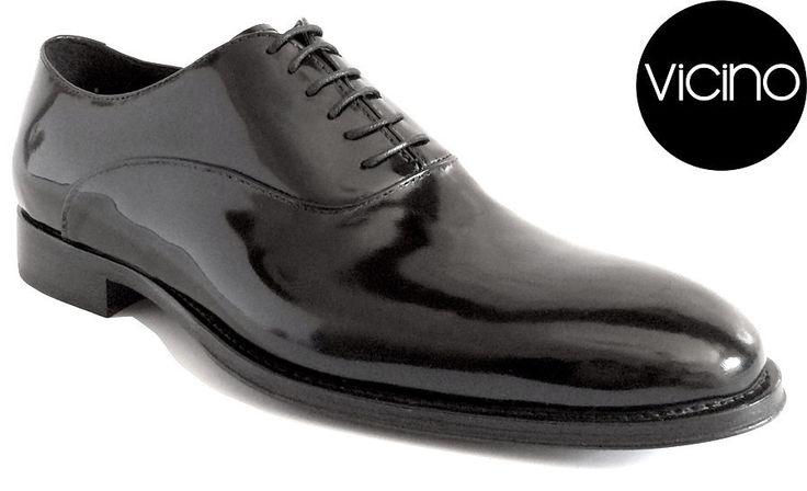 Classic Oxford (Black) | Vicino Italian Men Shoes – Vicino Italian Handmade Shoes for Men