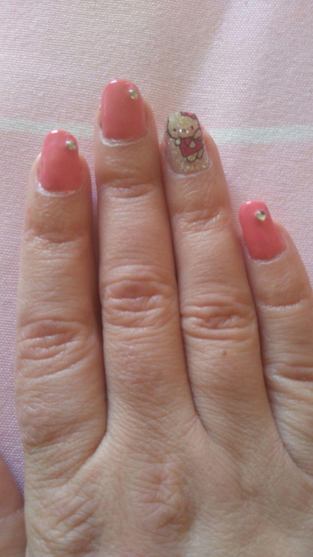 ##kittykatnails##Pink