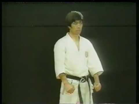 Shotokan Karate, Kata Tekki Nidan - Kanazawa Hirokazu. The most obvious observation, when watching these katas, is the fact they move in a straight line.