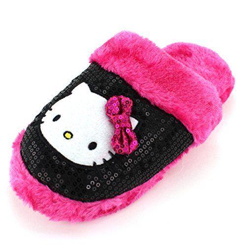 Hello Kitty Womens Pink Scuff Slippers, http://www.amazon.com/dp/B00O7SQNB6/ref=cm_sw_r_pi_awdm_nWXnub1P7HVTA