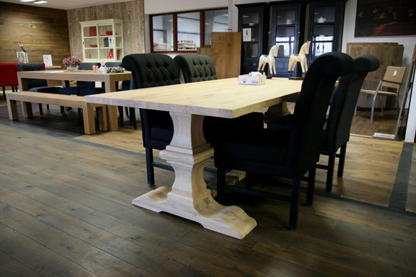 eiken tafels kloostertafels http://www.fairwood.nl/Tafels-aanbiedingen-outlet-kloostertafel-Lindisfarne-eiken.html