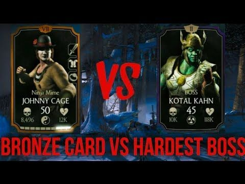 Can a Bronze Character Defeat Hardest MKX Mobile Boss Johnny Cage Vs Boss Kotal Kahn MG Can a Bronze Character Defeat Hardest MKX Mobile Boss Ninja MIME Johnny Cage Vs Boss Kotal Kahn MG Mortal Kombat x Gameplay @Movieripe #Movieripe https://www.Movieripe.com Movieripe Games