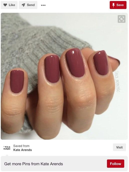 152,000 Women Still Can\'t Get Over This Nail Polish Color For Fall ...